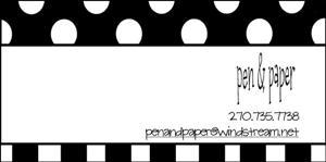 pen & paper_business card